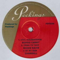 "Chris Peckings - Jailhouse Blues EP - 10"" - Peckings Records"