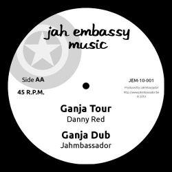 """Nya Azania / Jahmbassador / Danny Red - Set An Example / Ganja Tour - 10"""" - Jah Embassy Music"""
