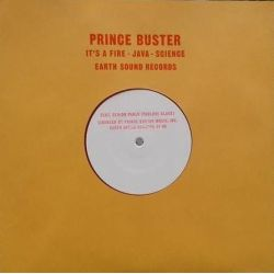 "Prince Buster / Pablo Black - It's A Fire / Java / Science - 10"" - Earth Sound"
