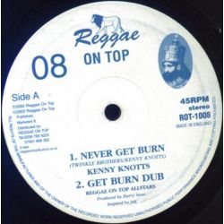"Various - Never Get Burn / Soldiers Of Jah - 10"" - Reggae On Top"