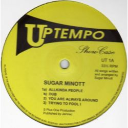 "Sugar Minott - Showcase - 10"" - Uptempo Records"