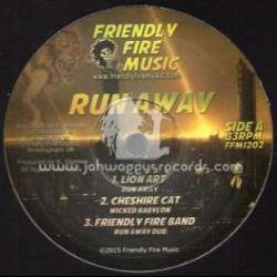 """Lion Art - Run Away - 12"""" - Friendly Fire Music"""