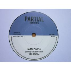 """King General / The Bush Chemists - Some People / Send Him Away Version - 7"""" - Partial Records"""