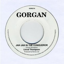 "Linval Thompson - Jah Jah Is The Conqueror - 7"" - Gorgan"