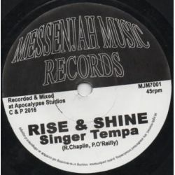 "Singer Tempa - Rise And Shine - 7"" - Messenjah Music Records"