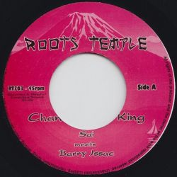 "Sista Sai / Barry Issac - Chant To The King - 7"" - Roots Temple"