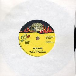 "Voice Of Progress / Negus Roots Players - Gun Gun / Come Ya Brother Dub - 7"" - Fire House"