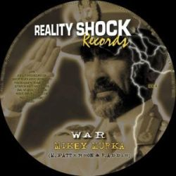 "Mikey Murka - War / Peace Pipes - 10"" - Reality Shock Records"