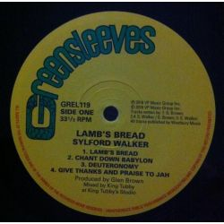 Sylford Walker - Lamb's Bread - LP - Greensleeves Records