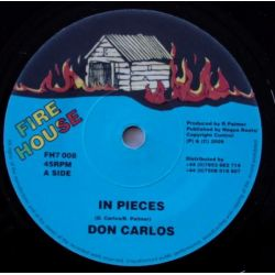 "Don Carlos  - In Pieces - 7"" - Fire House"