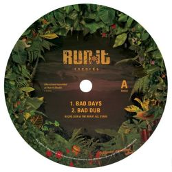 "Blood Lion / The Run It All Stars - Bad Days / Wadada - 12"" - Run It Records"