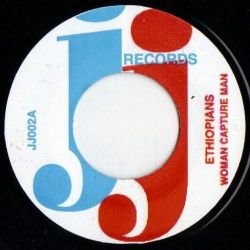 "The Ethiopians / The Kingstonians - Woman Capture Man / Mix It Up - 7"" - JJ Records"