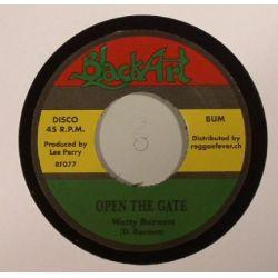 "Watty Burnett - Open The Gate  - 7"" - Black Art"