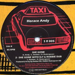 "Horace Andy - Gun Shot - 12"" - Taxi"