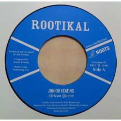 "Junior Keating - African Queen - 7"" - Rootikal"