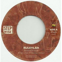 "Saralene & Isayah - Ruleylah - 7"" - Stepwise Records"