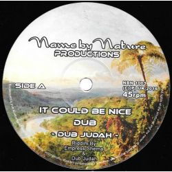 "Dub Judah - It Could Be Nice / Smoke And Mirrors And Credit Card - 10"" - Name By Nature"