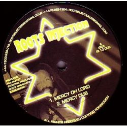"Ras Muffet - Mercy Oh Lord / Vision Riddim - 10"" - Roots Injection"
