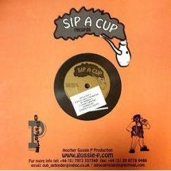 "Robbie Valentine - Step It Like A Warrior - 10"" - Sip A Cup Records"