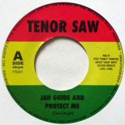 "Tenor Saw - Jah Guide And Protect Me - 7"" - Not On Label (Tenor Saw)"