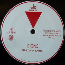 "Simon Nyabin - Signs / Tuesday - 12"" - III Music"