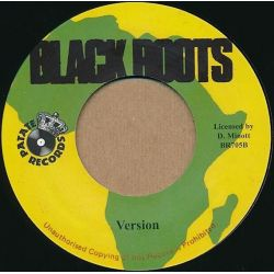 "Yami Bolo - Roots Pon Mi Corner - 7"" - Black Roots"