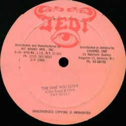 "Pat Kelly / Vincent March - The One You Love / Jack Up - 12"" - Jedi"