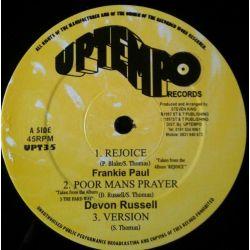"""Frankie Paul - Rejoice - 12"""" - Uptempo Records"""