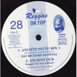 "Tony Roots - Chanting - 10"" - Reggae On Top"