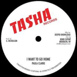 "Paula Clarke / Singie Singie - I Want To Go Home / If I Am Wrong - 10"" - Tasha Records"