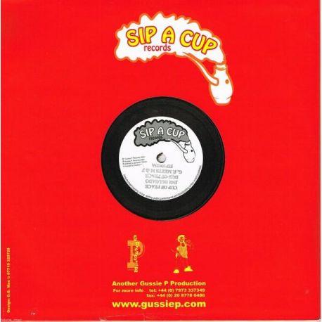 """Junior Delgado - Cup Of Peace - 10"""" - Sip A Cup Records"""