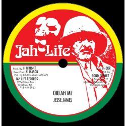 """Jess James - Obeah Me - 10"""" - Jah Life"""