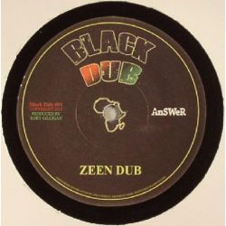 "Nelly Stharre / Rory Gilligan - Find Your Roots / Zeen Dub - 7"" - Black Dub"