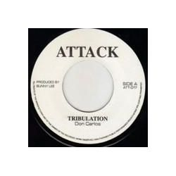 "Don Carlos  / King Tubby - Tribulation - 7"" - Attack"