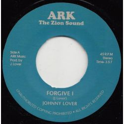 "Johnny Lover / Ark Riders - Forgive I / Forgiven - 7"" - Ark The Zion Sound"