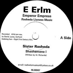 """Sister Rasheda - Shashemene I - 7"""" - E Erlm"""