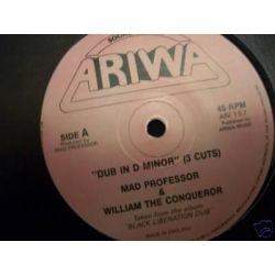 """Mad Professor / William The Conqueror / Wendy Walker - Dub In D Minor (3 Cuts) / Baby I'm For Real - 12"""" - Ariwa"""