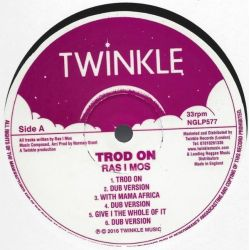 Ras I Mos - Trod On - LP - Twinkle Music