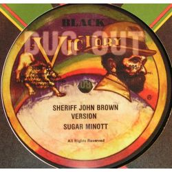 "Sugar Minott - Sheriff John Brown - 12"" - Black Victory"