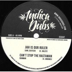 "Earl Sixteen / Dan Man / Indica Dubs - Jah Is Our Ruler / Can't Stop The Rastaman - 10"" - Indica Dubs"