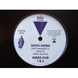 "Ras Hassen Ti / King Alpha / Far East - Addis Abeba / New Flower - 12"" - III Music"