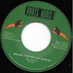 "Ras John B - Walking Through Jah Meadow - 7"" - Roots Addis Muzik"