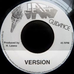 "Barrington Levy - Fuss Nor Fight - 7"" - Jah Guidance"