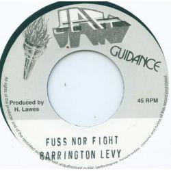 "Barrington Levy - Fuss Nor Fight - 7"" - Jah Guidance"