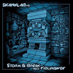 "Violinbwoy / Storm & Break - Skank Lab 8 - 12"" - LAcouphène"
