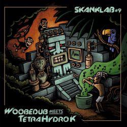 "Woobedub / Tetra Hydro K - Skank Lab 9 - 12"" - LAcouphène"