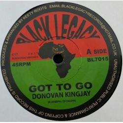 "Donovan King Jay - Got to Go - 7"" - Black Legacy"