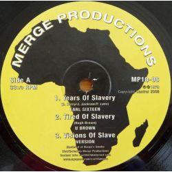 "Earl Sixteen / U Brown / Earl Daley - Years Of Slavery / Freedom - 10"" - Merge Records"