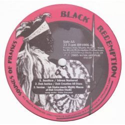 "Idren Natural / Jah Shaka / Mighty Massa - Justice - 10"" - Black Redemption"