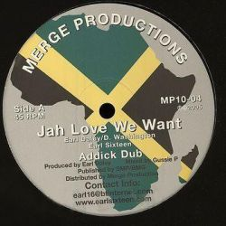 "Earl Daley - Jah Love We Want / Gold Of Sheba - 10"" - Merge Records"
